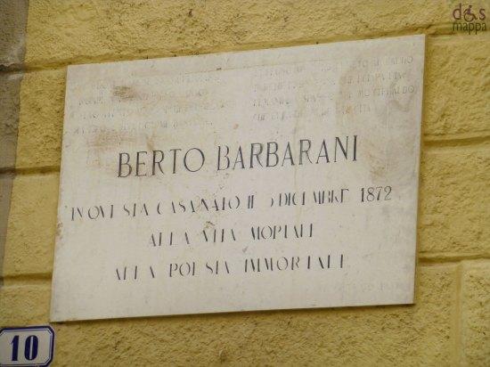 iscrizione berto barbarani casa natale verona