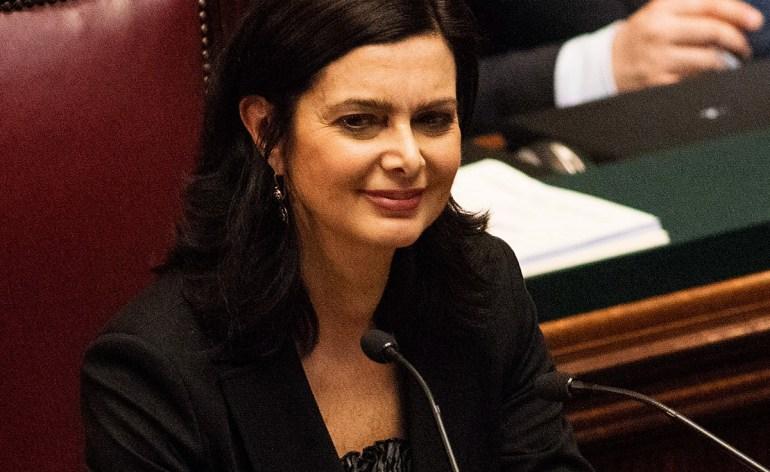 laura boldrini presidente della camera dei deputati cita i disabili nel discorso di insediamento