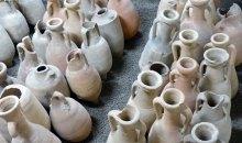 Il deposito di anfore romane