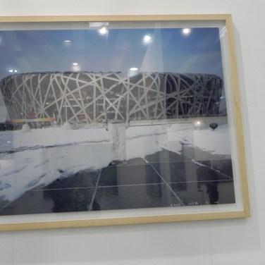 stampe dell'artista cinese liu bolin alla fiera art verona del 2011