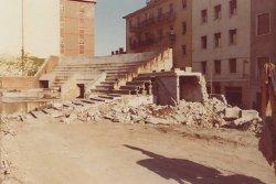 demolizione del vecchio stadio Bentegodi in Piazza Cittadella