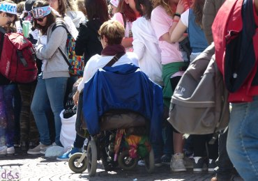 disabile, carrozzina, one direction