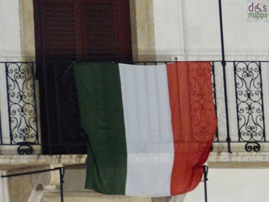 La bandiera della Società Letteraria