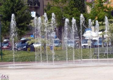 La fontana di Piazza Cittadella a Verona