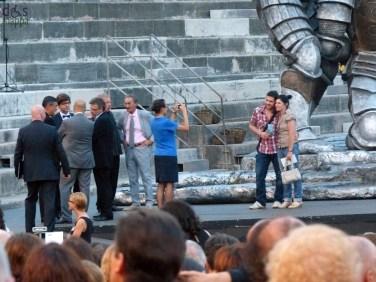 Foro ricordo Prima della prima al Festival del Centenario: Il Trovatore, 7 luglio 2013, Arena di Verona