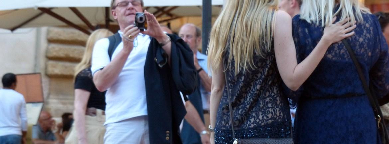 fotografia bionde Prima della prima al Festival del Centenario: Il Trovatore, 7 luglio 2013, Arena di Verona