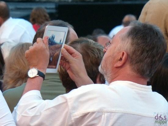 foto ipad Prima della prima al Festival del Centenario: Il Trovatore, 7 luglio 2013, Arena di Verona