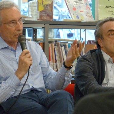 Savorelli Orlando L'incontro con attori e regista de Il mercante di Venezia alla Biblioteca Civica di Verona, primo appuntamento de fuoriTeatro dentro la biblioteca | incontrando gli artisti