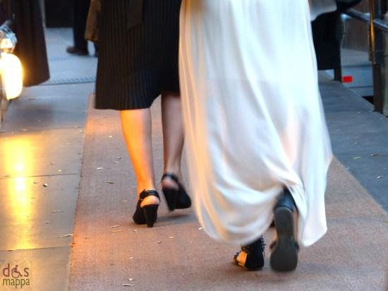 Bianco e nero da sera per la prima al Tetro Romano