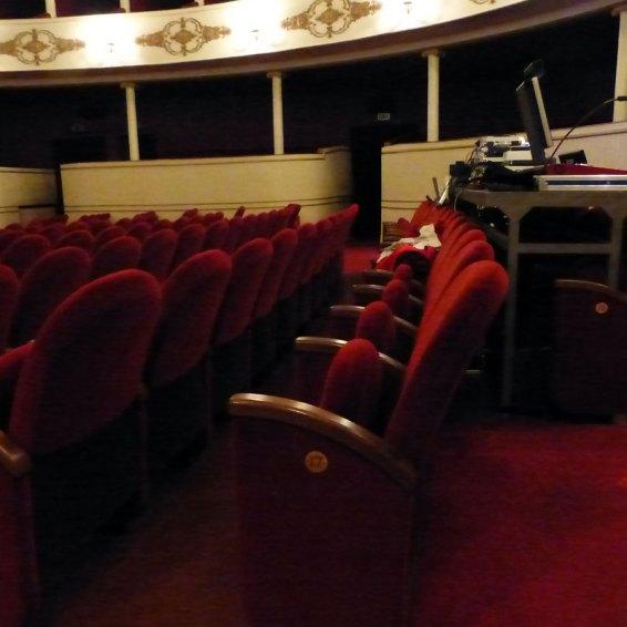 I posti riservati agli spettatori con disabilità