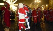 Ventesima edizione Babbo Natale in moto