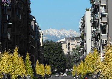 20131201 Montagne veronesi innevate da Borgo Trento