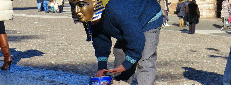 20140106 Mummia artista di strada Arena di Verona