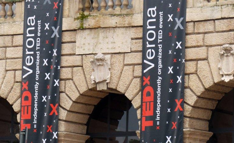 20140216 Manifesti TED x Verona Palazzo della Gran Guardia