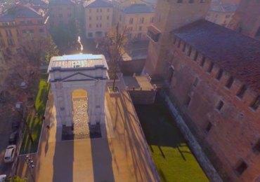Volografia Verona ripresa aerea droni
