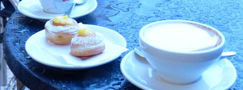 Caffe cappuccino paste pioggia dersut verona