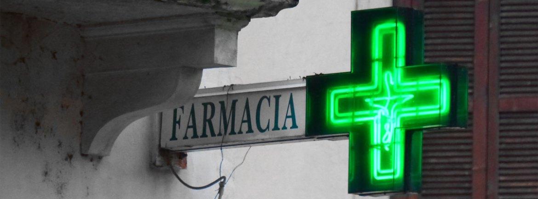 20140131 Insegna Farmacia neon Porta Leoni Verona