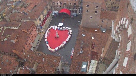 20140213 Verona in love San Valentino Piazza Dante
