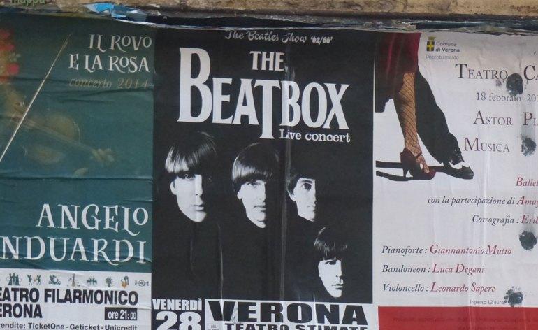 20140223 Beatbox Beatles Show Teatro Stimate Verona