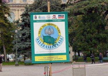20130317 Manifesto Palio del Drappo Verde Piazza Bra Verona