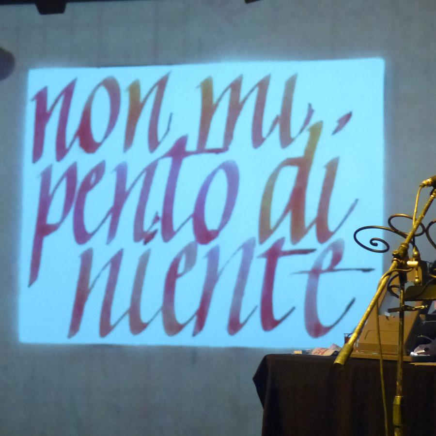 20140309 Da donna a donna Teatro Laboratorio Verona non mi pento