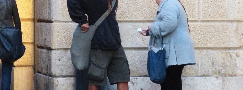 20140320 A piedi nudi in via Cappello Verona