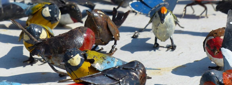 20140329 Animali ferro riciclato Verona in fiore uccellini 359
