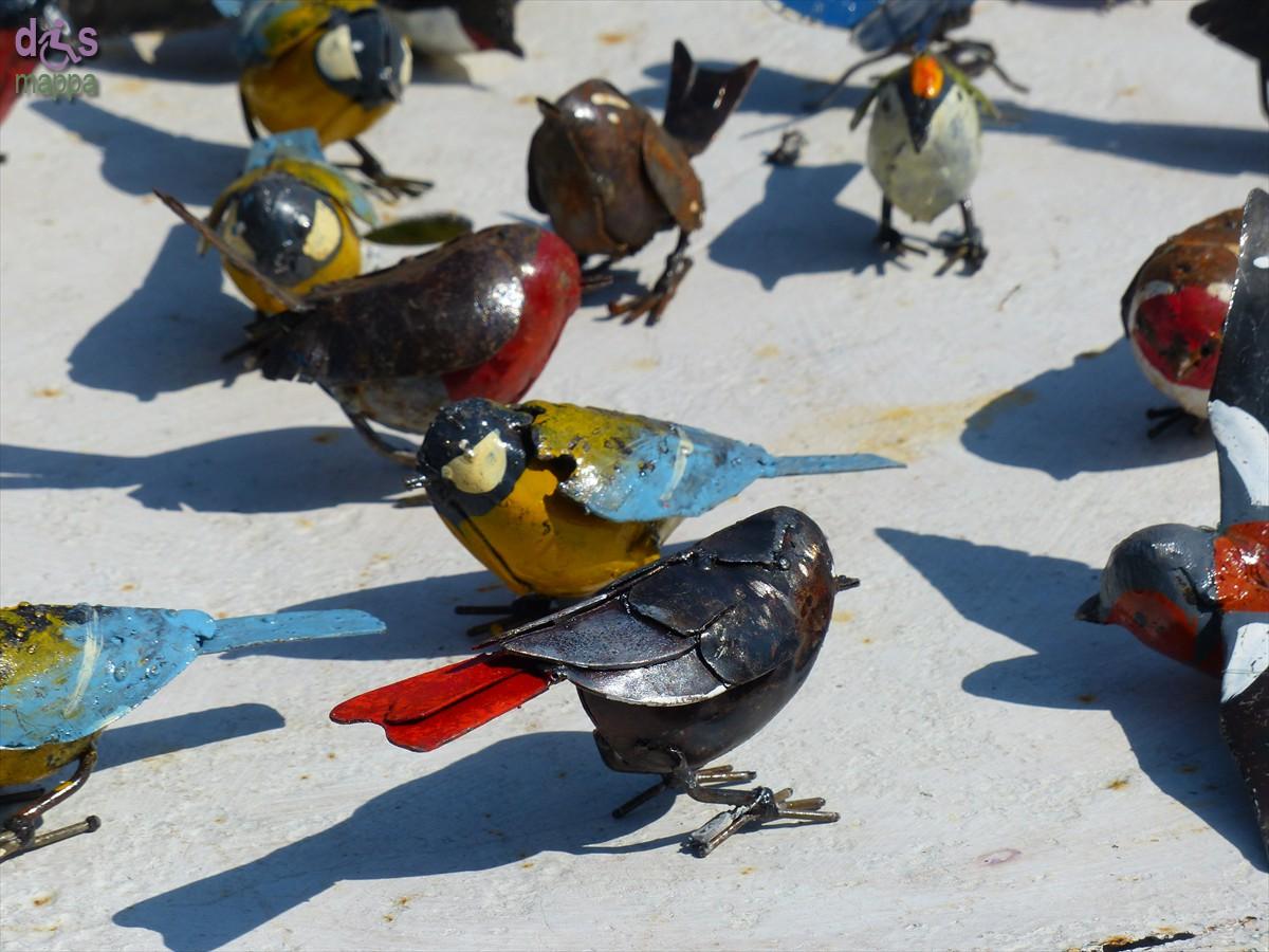 20140329 Animali ferro riciclato Verona in fiore uccellini 361