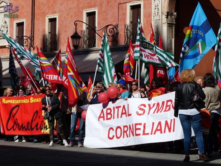 20140416 Manifestazione lavoratici Abital Corneliani Verona 775