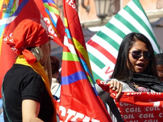 20140416 Manifestazione lavoratici Abital Corneliani Verona 850