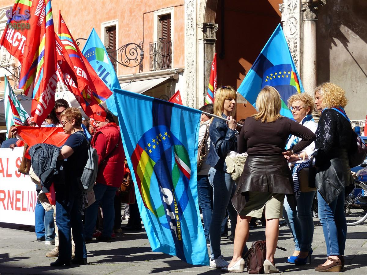 20140416 Manifestazione lavoratici Abital Corneliani Verona 869
