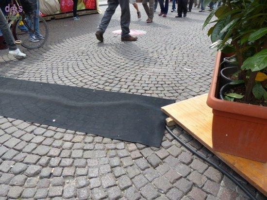 20140418 Accessibilita disabili dossi Piazze dei Sapori Verona