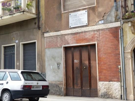 20140704 Casa natale Ettore Arduino Veronetta