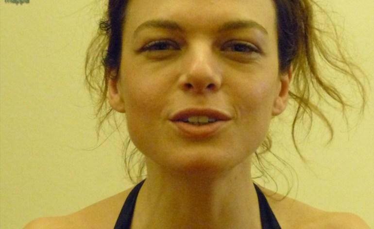 L'attrice Eugenia Costantini, a Verona per La dodicesima notte, testimonial di accessibilità per dismappa: accessibile è meglio
