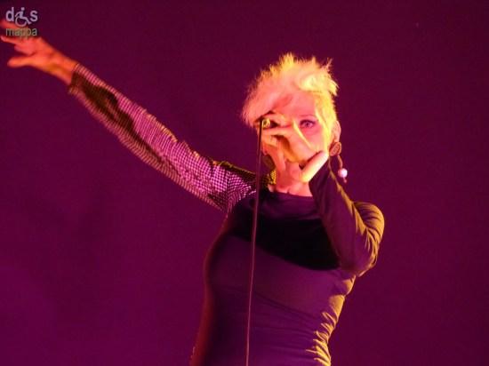 Christina Moser dei Krisma in concerto a Verona