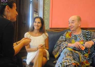 Il grande ballerino e coreografo Lindsay Kemp è a Verona per il Gala internazionale Stelle della danza, amabile e generoso come sempre, ha accettato di essere testimone di accessibilità assieme alla ballerina Daniela Maccari