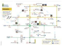 Pedometro - Mappa di Verona a piedi - Verona Maps