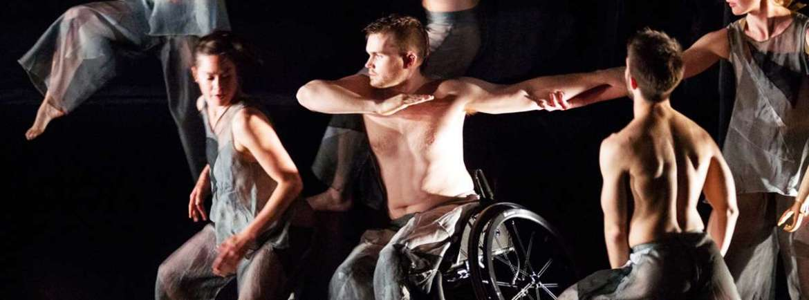 Double Bill Candoco Dance Company wheelchair