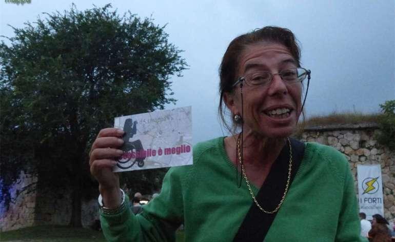 La regista Nicoletta Vicentini testimone di accessibilità per dismappa