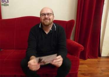 """L'artista Marco Campedelli, che parteciperà a Theatre Art Verona con la performance """"Ordinary Lovers"""", testimone di accessibilità per disMappa."""