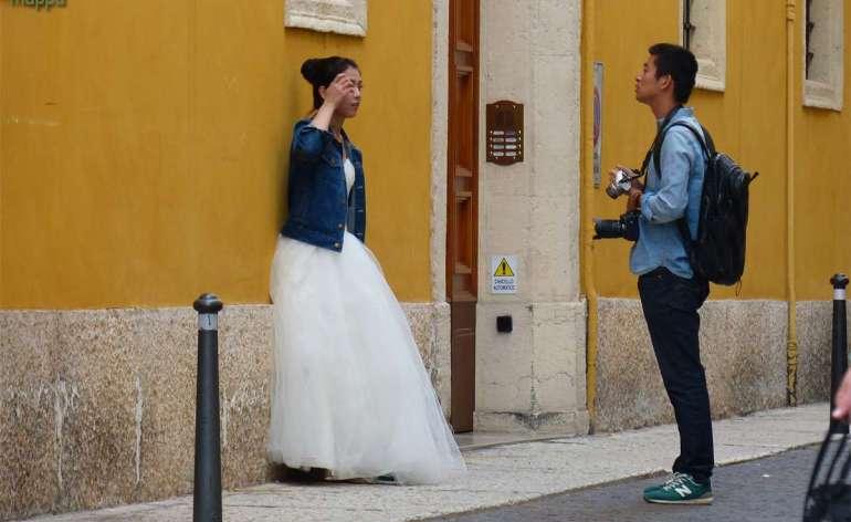 20141004 Modella asiatica foto sposa Verona 7