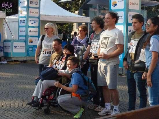 20141005 Foto gruppo disabile carrozzina Verona Marathon