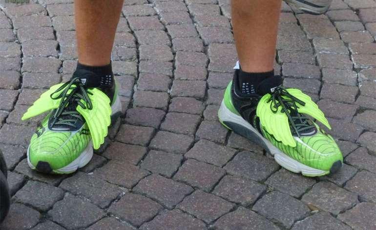 20141005 Scarpe con ali Verona Marathon