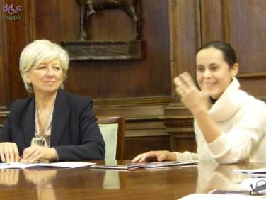 L'Assessore Anna Leso e la direttrice artistica/ideatrice Elisabetta Garilli hanno presentato ieri la seconda edizione di Agorà per le famiglie