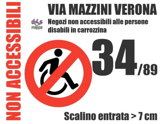 Verona-via-Mazzini-Negozi-non-accessibili-disabili