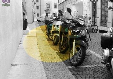 20140829 Scooter barriere architettoniche dismappa Verona