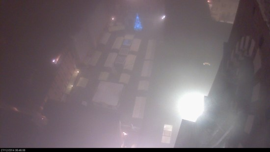 20141227 Piazza Dante nebbia Verona webcam