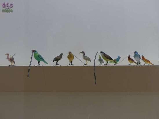 The Princesses Rusted Belt, l'installazione dell'artista indiana Hema Upadhyay alla Mostra Ad Naturam al Museo di storia naturale di Verona Testo proveniente dalla pagina: Gli uccellini in terracotta di Hema Upadhyay