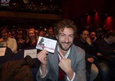Lo scrittore Alessandro D'Avenia testimone di accessibilità alla cultura, citando Dante