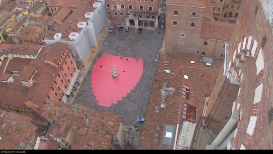 20150207 Cuore Verona in love Piazza dei Signori Verona